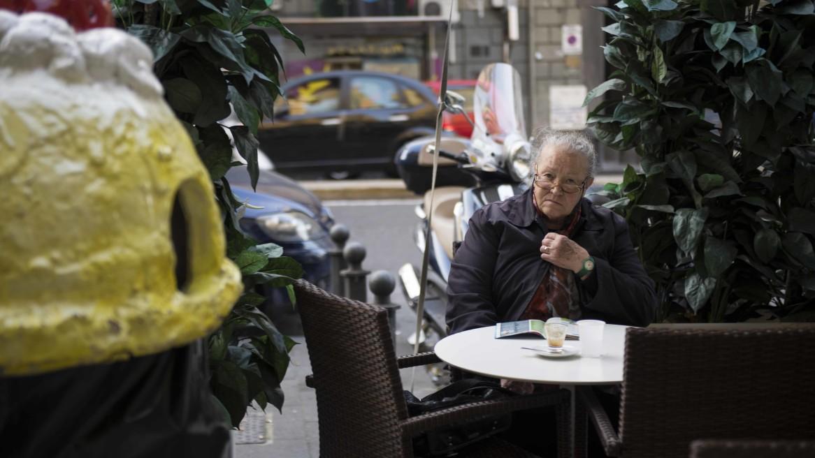 La signora e il caffè finito #41