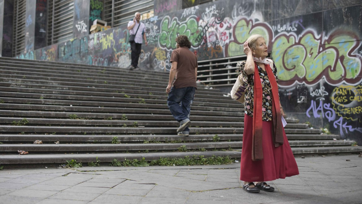 Teatralità sulle scale #298