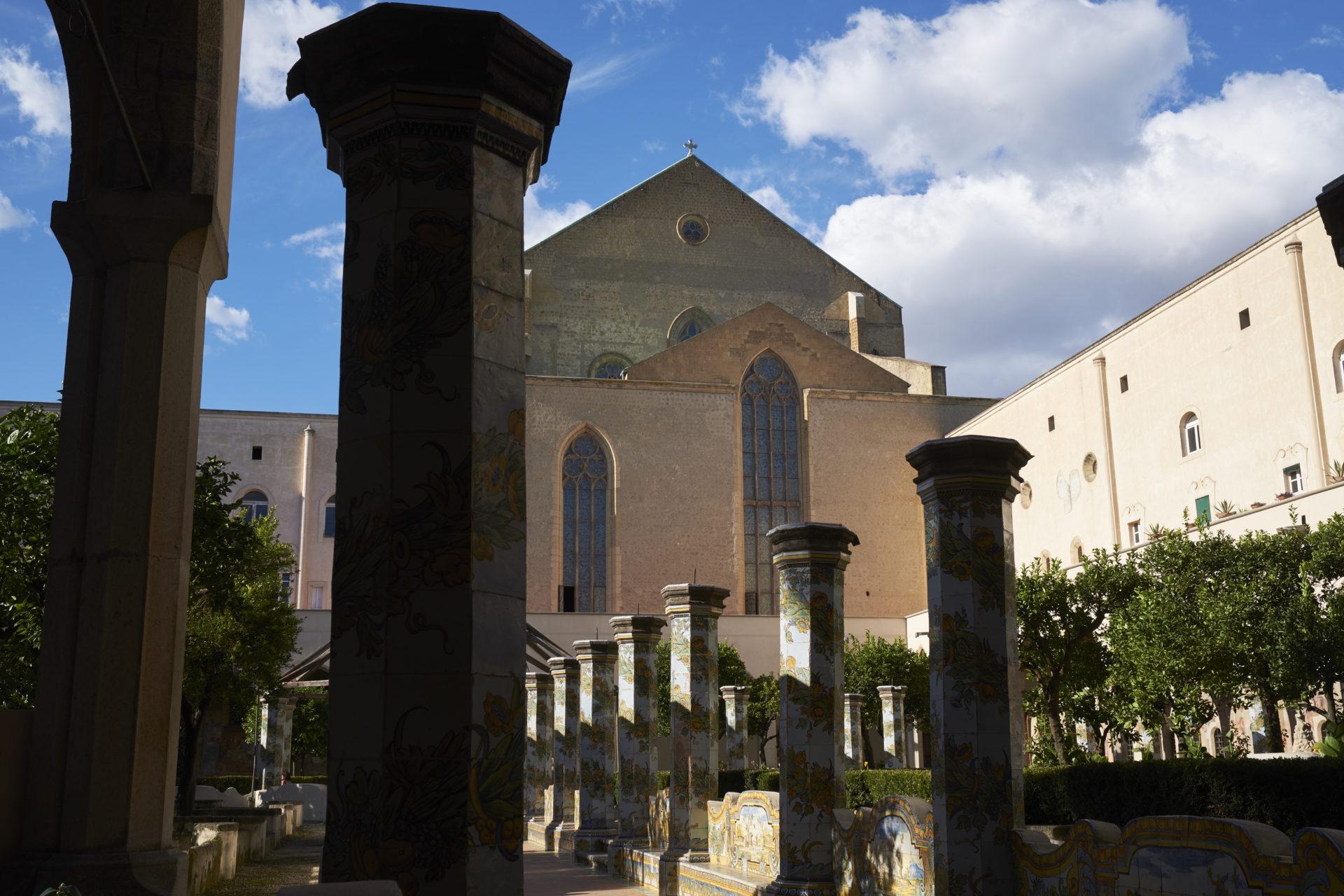 Il Chiostro di Santa Chiara #655
